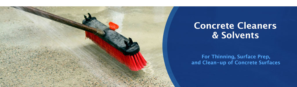 Concrete Cleaners & Solvents