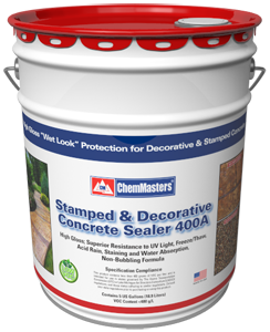 Stamped and Decorative Concrete Sealer 400A